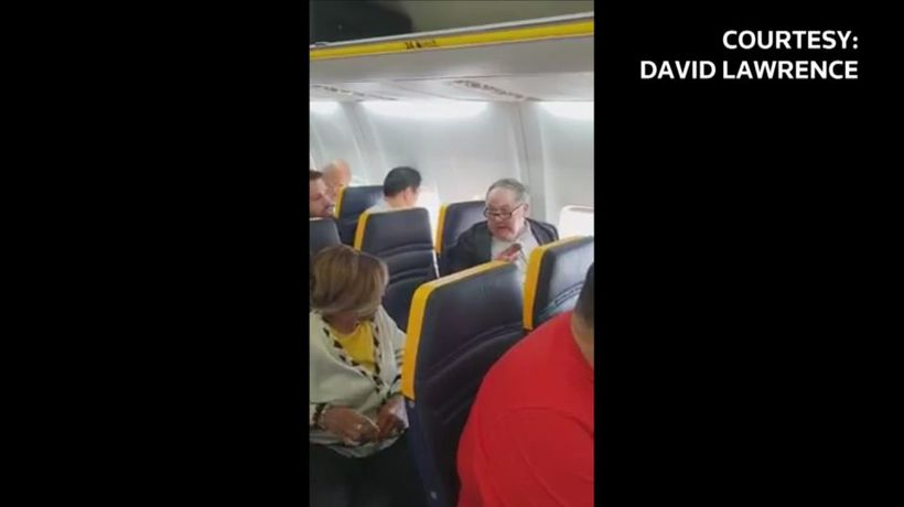 Ryanair passenger's racist rant prompts British police investigation