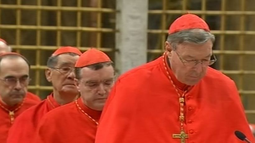 Pope demotes two cardinals over sex abuse