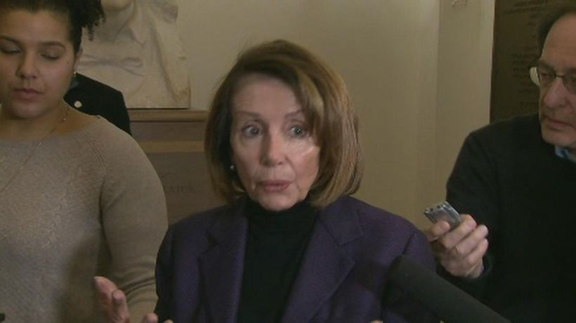 Pelosi accuses Trump of endangering troops, lawmakers