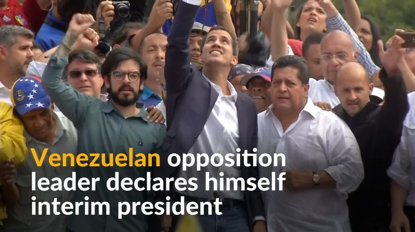 Venezuelan opposition declares parallel government