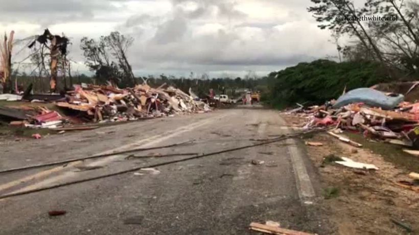 At least 23 dead in Alabama tornado: sheriff