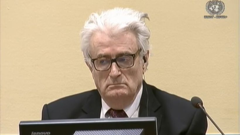 Ex-Bosnian Serb wartime leader Karadzic sentenced to life in prison