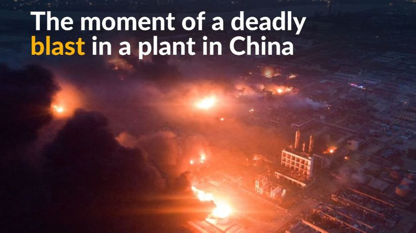 Deadly blast at chemical plant in China kills 47