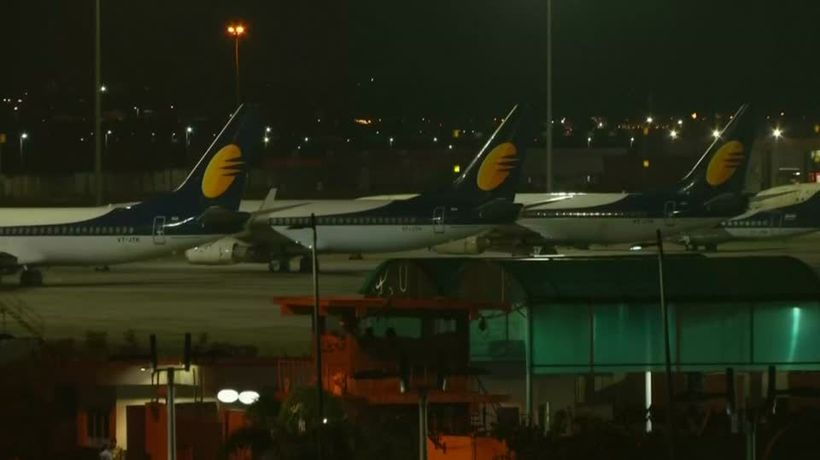 India's Jet Airways runs out of cash, shuts down