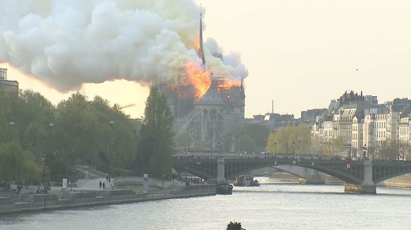Notre-Dame firefighters 'honored' at Elysee Palace