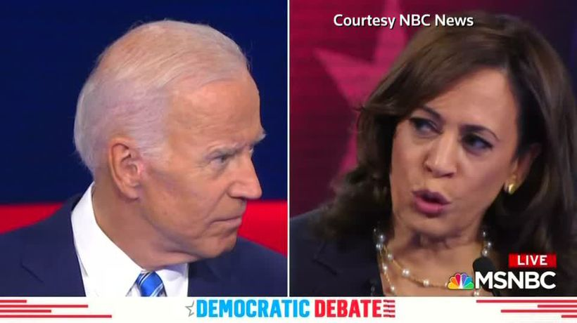 Next Dem debate will feature Biden-Harris rematch