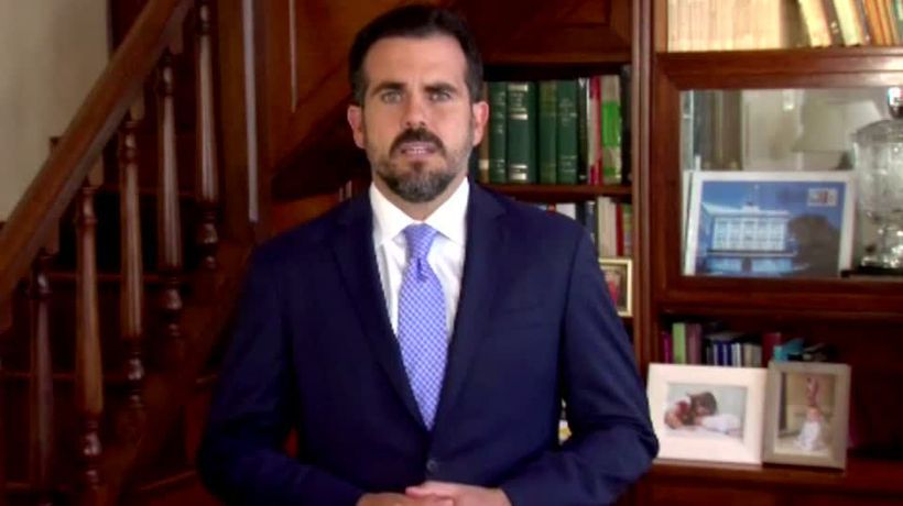 Puerto Rico governor won't seek re-election