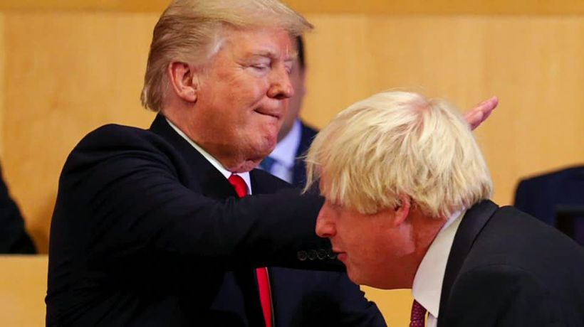 'Different kind of guy' - Trump sees kindred spirit in Boris Johnson