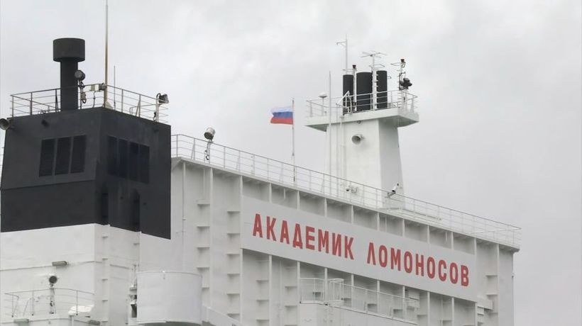 Russia's floating nuclear plant readies for Northern Sea Route