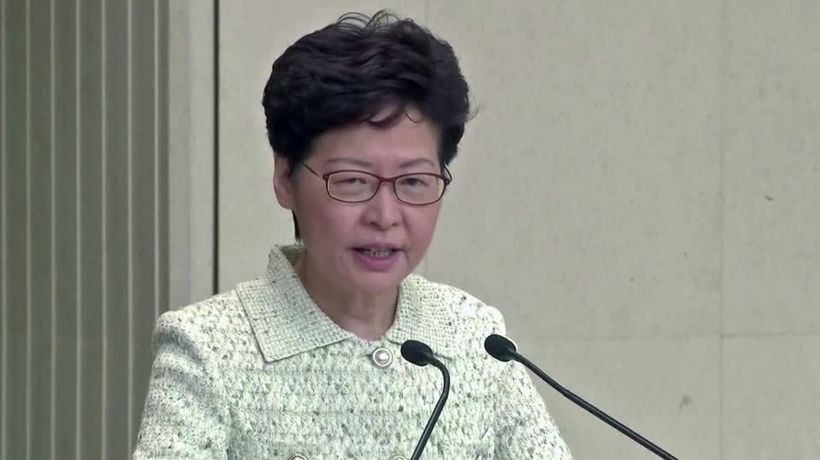 'Totally irresponsible': Lam slams U.S. senators