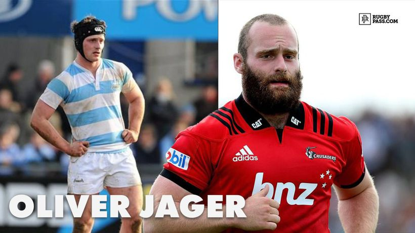 Oliver Jager | The Irishman on the verge of becoming an All Black...