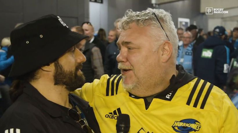 Fan reactions from Eden Park as rugby returns to New Zealand with the Blues and Hurricanes