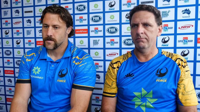 Western Force team announcement