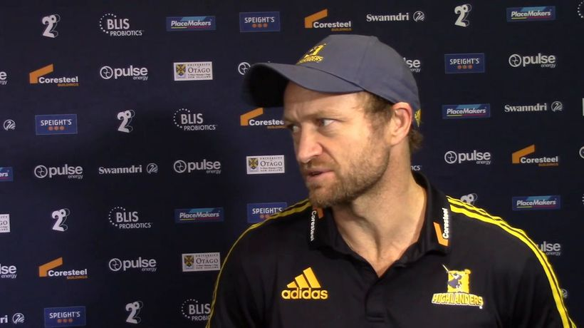 Tony Brown Interview | Highlanders v Blues | Super Rugby Aotearoa - Round 8