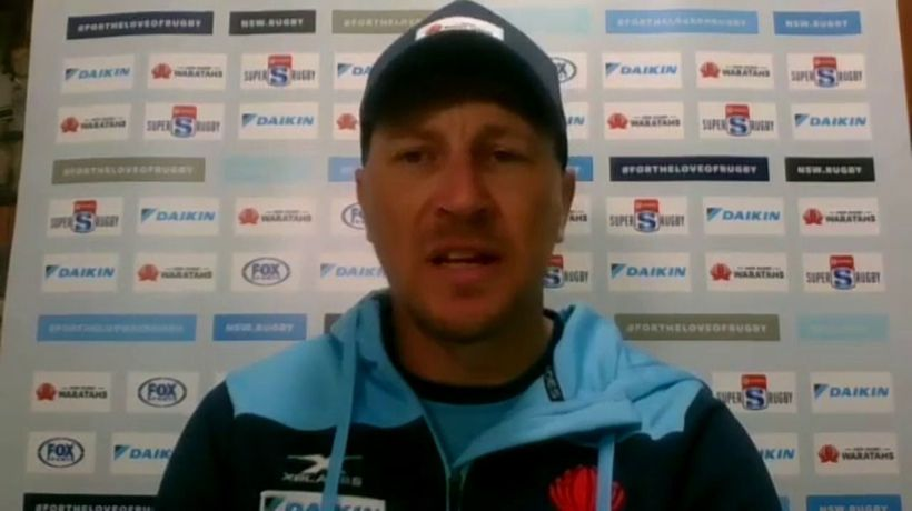 Waratahs assistant coach Jason Gilmore on the Reds