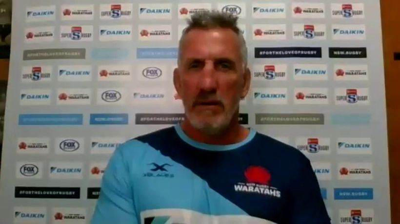 Waratahs coach Rob Penney on the Reds