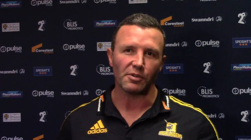 Aaron Mauger on the Highlanders final match of Super Rugbby Aotearoa