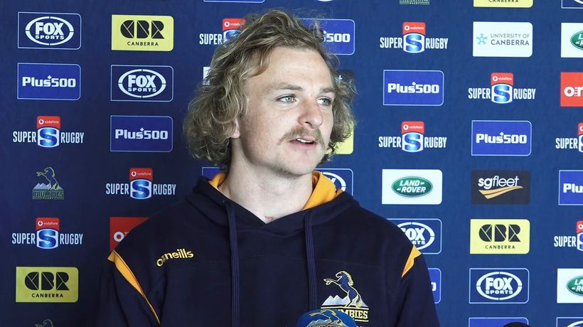 Brumbies scrumhalf Joe Powell interview