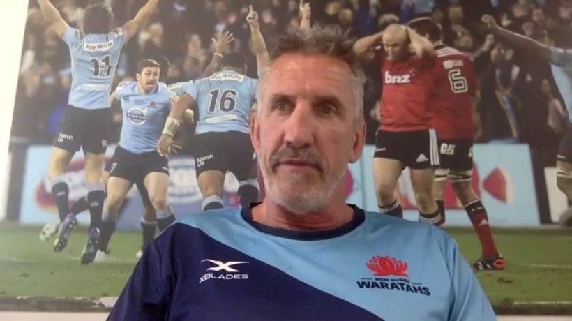 Rob Penney interview - Waratahs v Rebels round nine