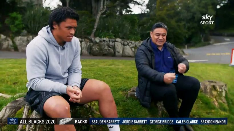 'That desire to win was always with him' - New All Black Caleb Clark's journey to follow his father'