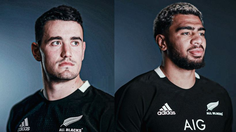 Four of the newest All Blacks react to being named for the first time