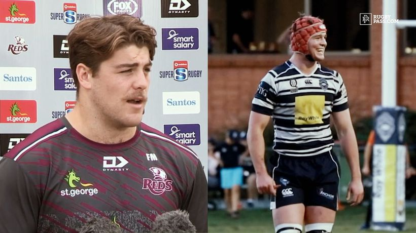 It took 2 years for Harry Wilson & Fraser McReight to go from playing club rugby together to making