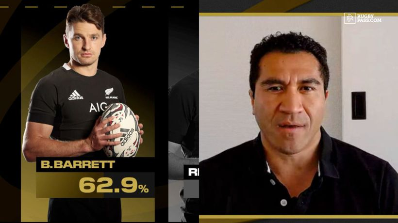 Who was the All Blacks best performer in 39-0 win over the Pumas | Healthspan Elite Performer of the