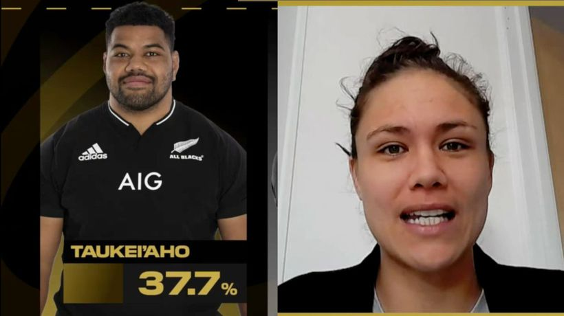 Who was the All Blacks top performer in the second Pumas test? | Healthspan Elite Performer of the W