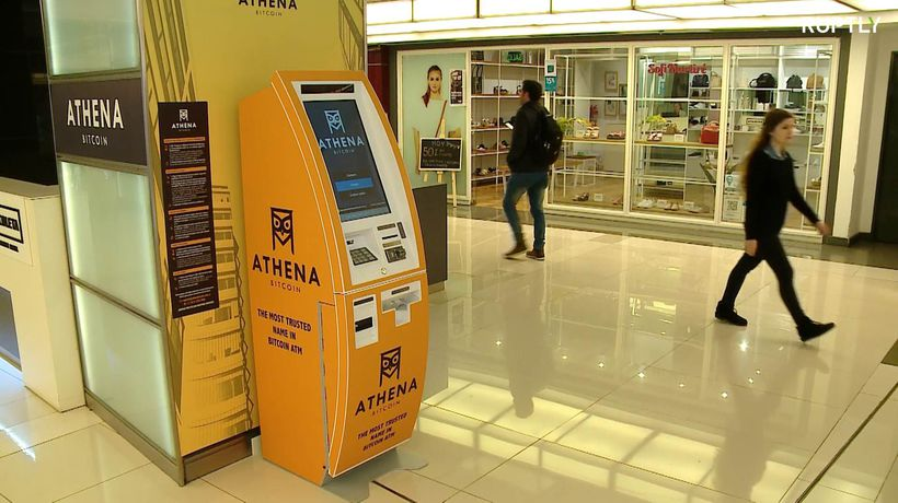First bitcoin ATM opens as economic crisis worsens in Argentina