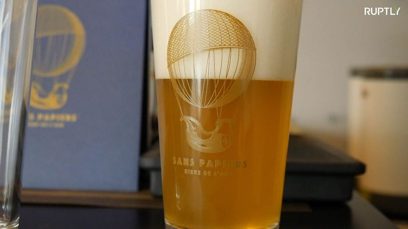 This Italian craft beer is made out of thin air