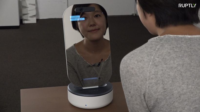 This high-tech mirror will boost your confidence!