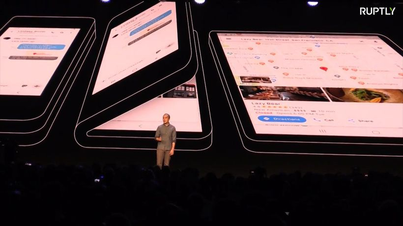 USA: Foldable phone revealed by Samsung at San Francisco conference