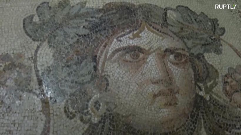 Plundered 'Gypsy Girl' mosaic pieces returned to Turkey