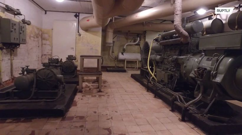 Take a tour of a top-secret Soviet bunker where nuclear arms were stored