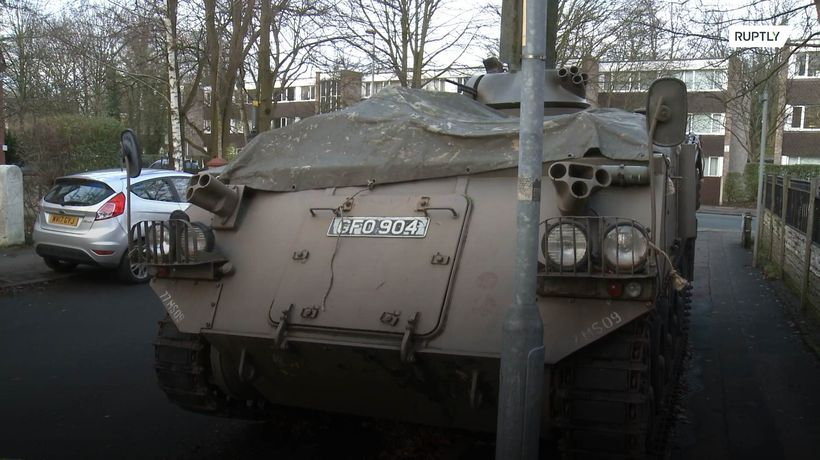 No tanks! Armoured vehicle sparks controversy in Manchester suburb