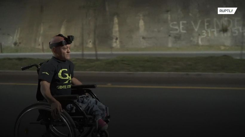 Meet Colombia's Toretto on a wheelchair
