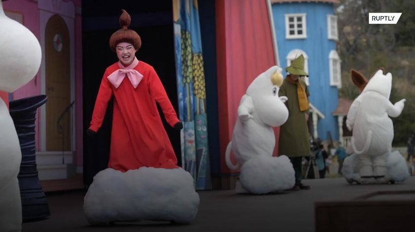 New Moomin-themed amusement park opens in Japan