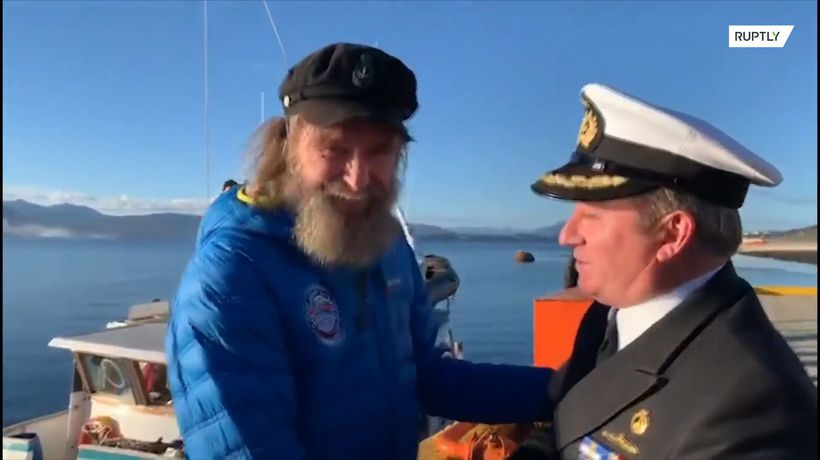 Russian explorer completes 154-day South Pacific solo voyage