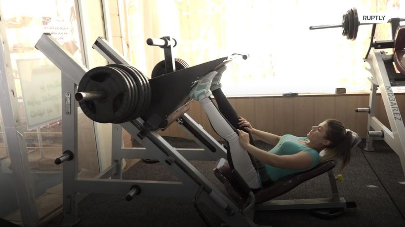 Kurdish woman aims for international bodybuilding stardom