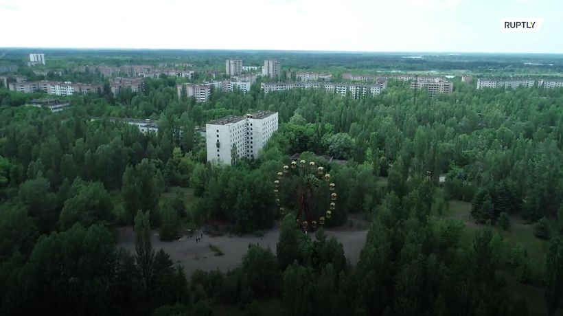 Take a tour of the ghost town of Pripyat in Chernobyl's Exclusion Zone