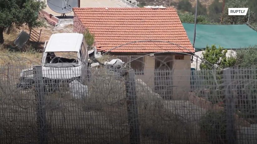 Alone on the wrong side of Israel's separation barrier
