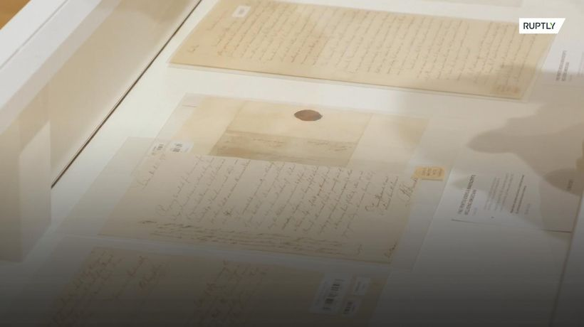 Einstein's letters go under the hammer at NYC auction