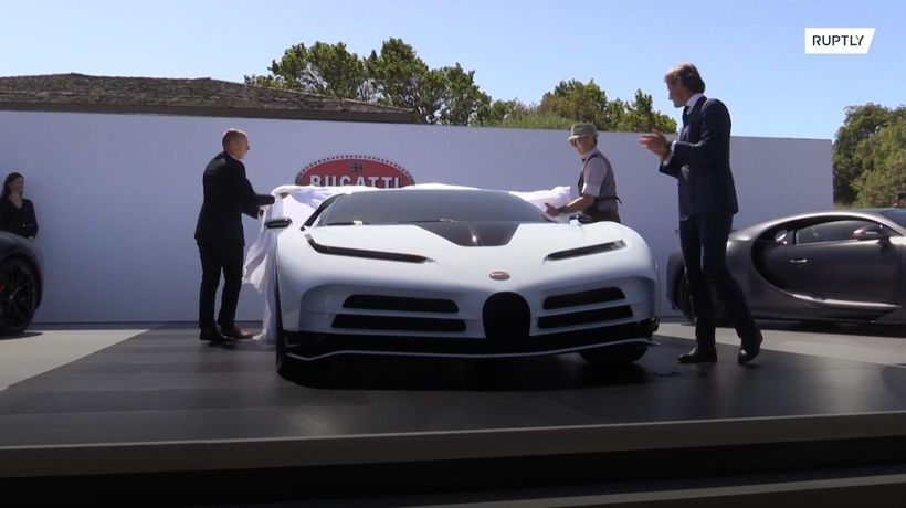 Bugatti and Lamborghini supercars given debuts at Monterey Autoweek 2019