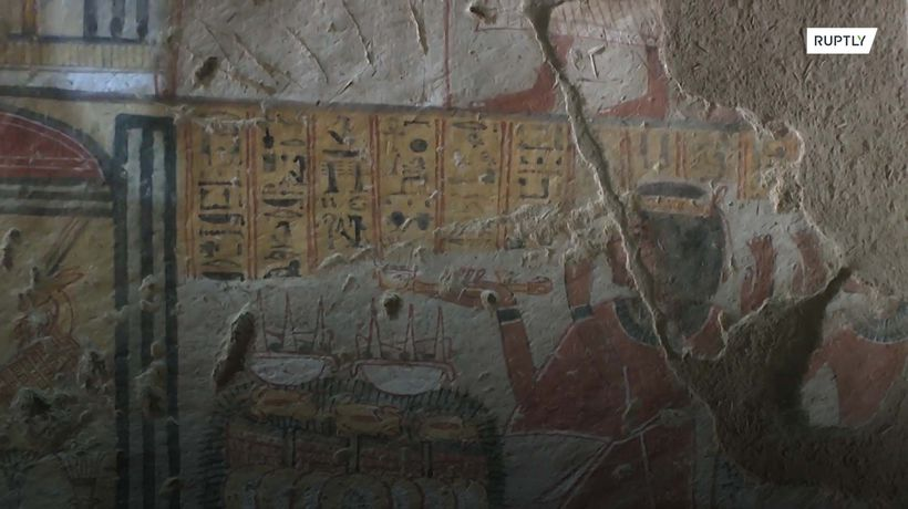 Ancient tombs and temple restored in Luxor
