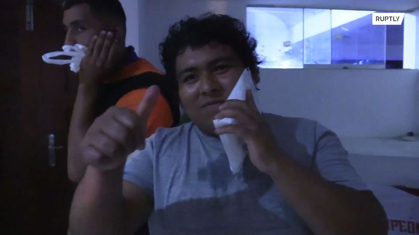 Slapping contest arrives in Peru after Russian 'sports' show goes viral