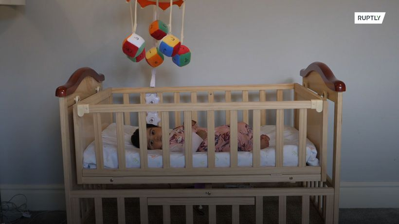 Startup launches smart cot that recites Quran while rocking baby to sleep