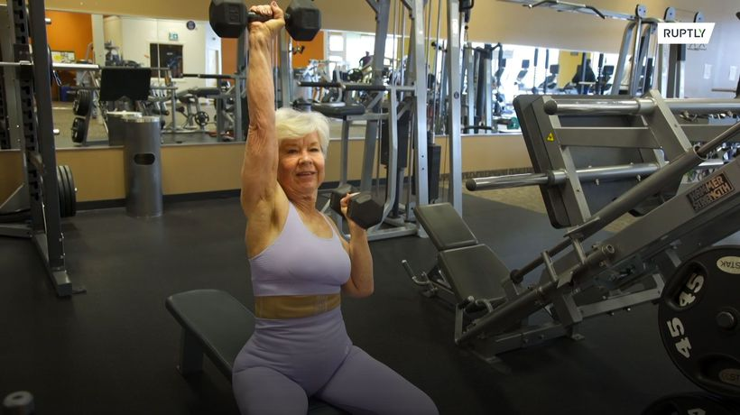 Joan, 73, is inspiring 100,000s with her life-changing fitness journey