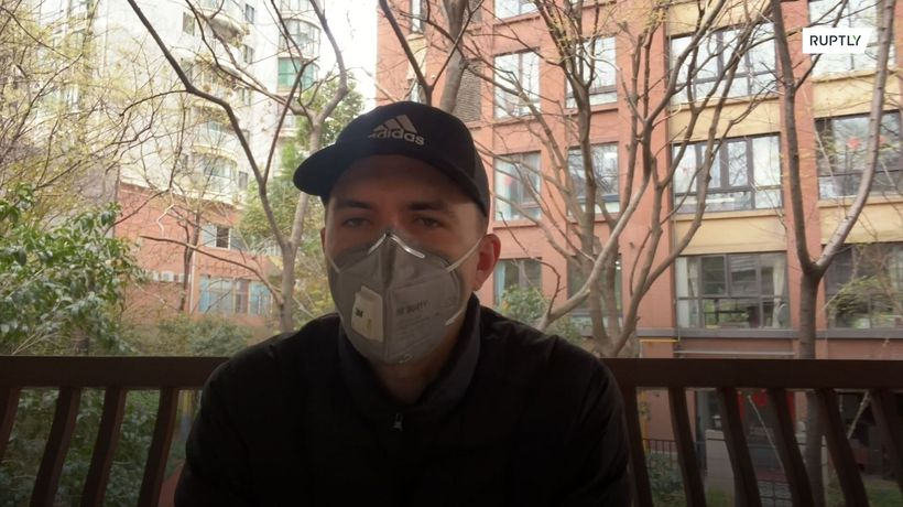 'Things do seem to be improving' - Brit living in Wuhan