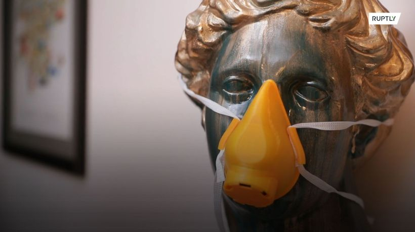 Company uses 3D printer to make face masks amid as protection from COVID-19