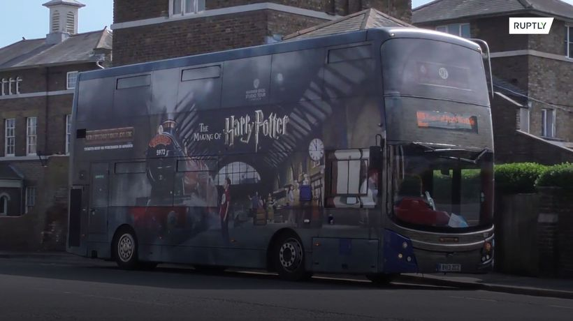 Transmogrify! Harry Potter tour buses repurposed into shuttles for NHS workers